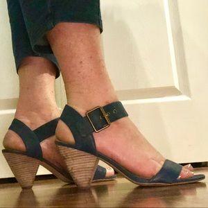 Navy Blue Sandals